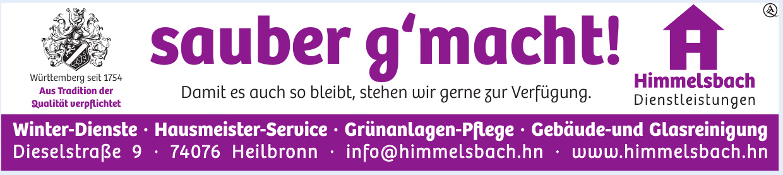 Himmelsbach Dienstleistungen