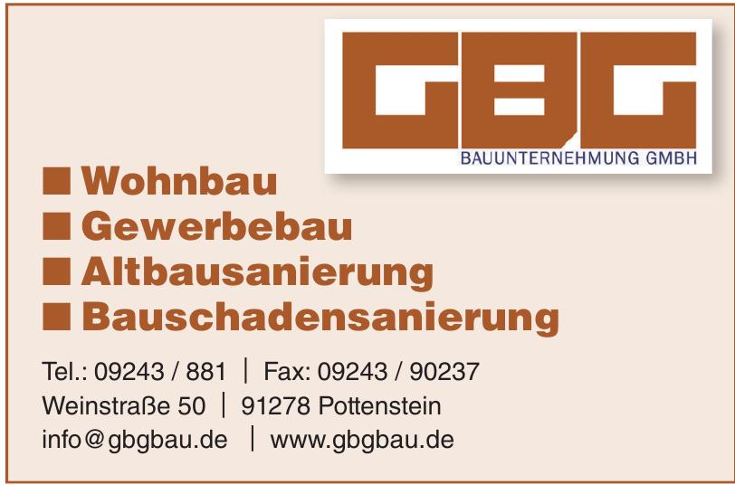 GBG Bauunternehmung GmbH