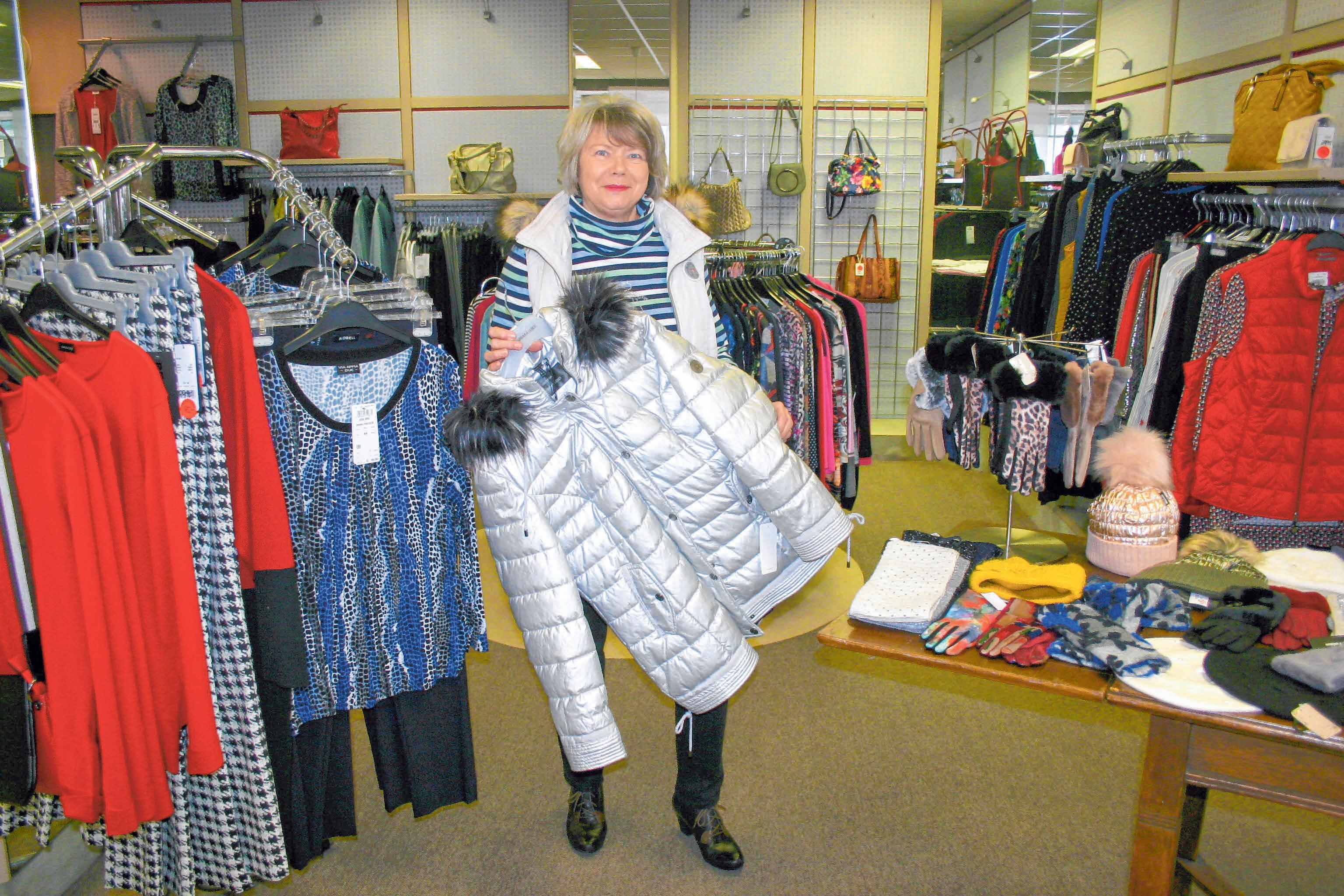Die Mode-Ecke führt zahlreiche tolle Schnäppchen im Angebot.