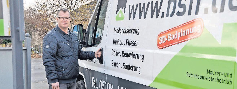 Seit mehr als 20 Jahren führt Sven Bytomski seinen Betrieb.