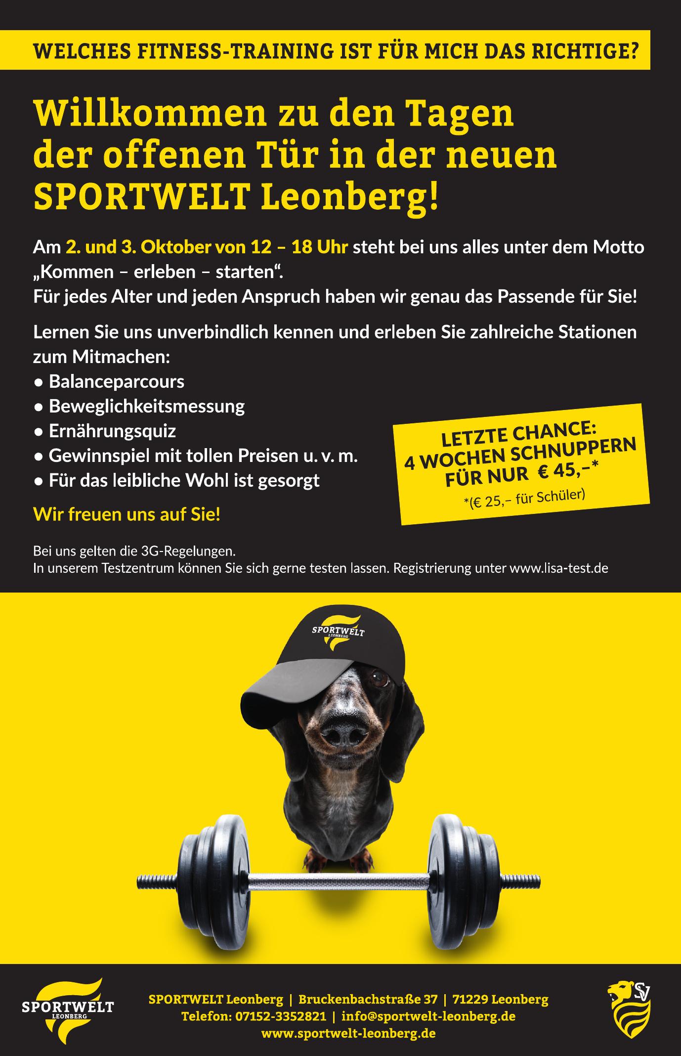 Sportwelt Leonberg