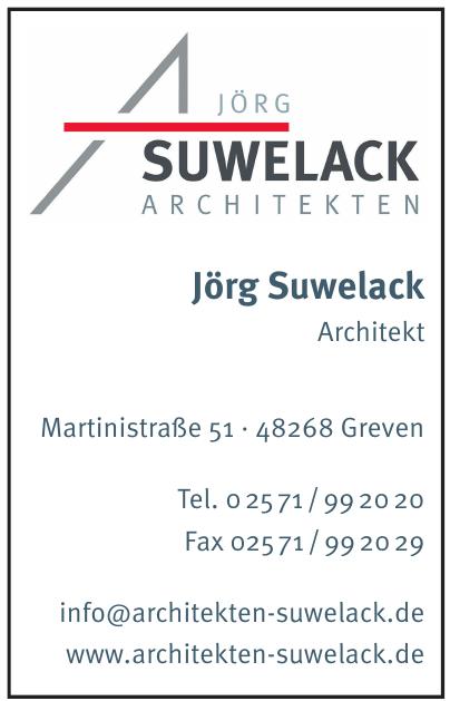 Jörg Suwelack Architekten
