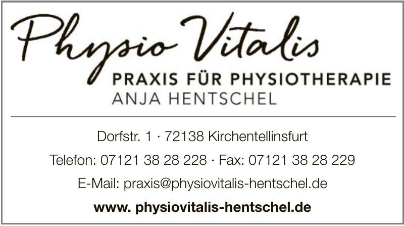 Physio Vitalis – Anja Hentschel – Praxis für Physiotherapie