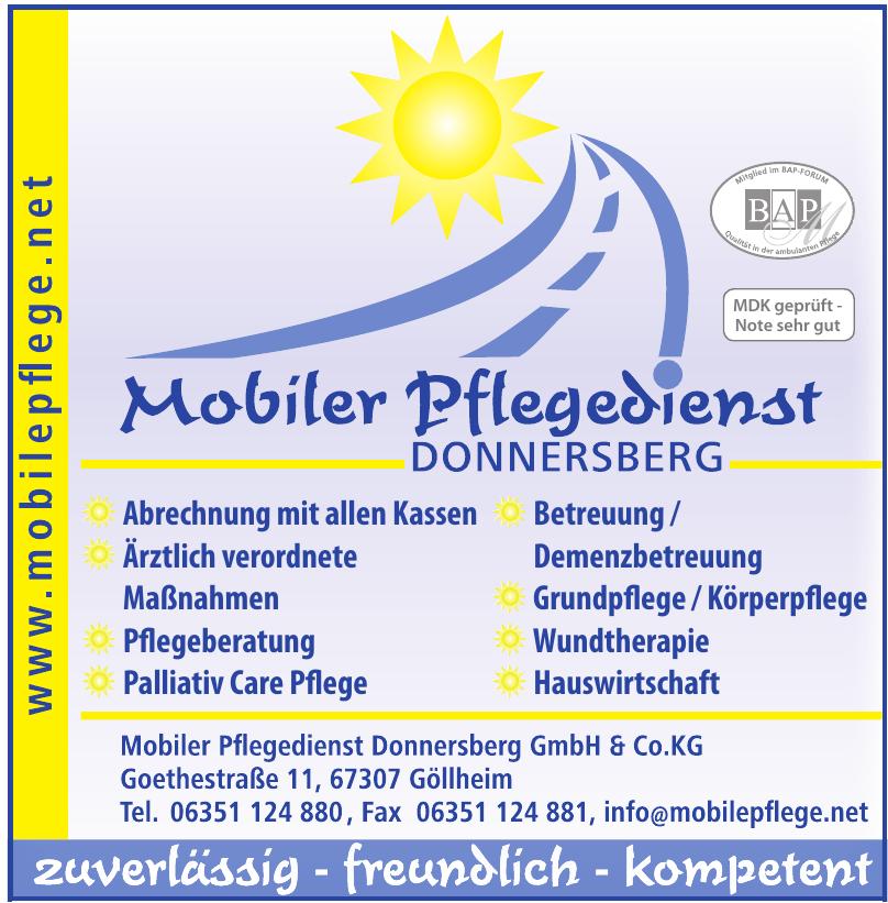 Mobiler Pflegedienst Donnersberg GmbH & Co.KG