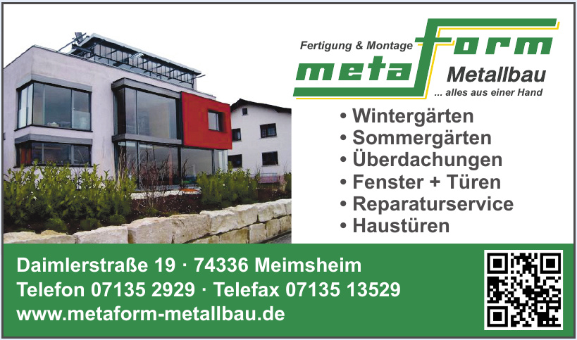 Metaform Metallbau