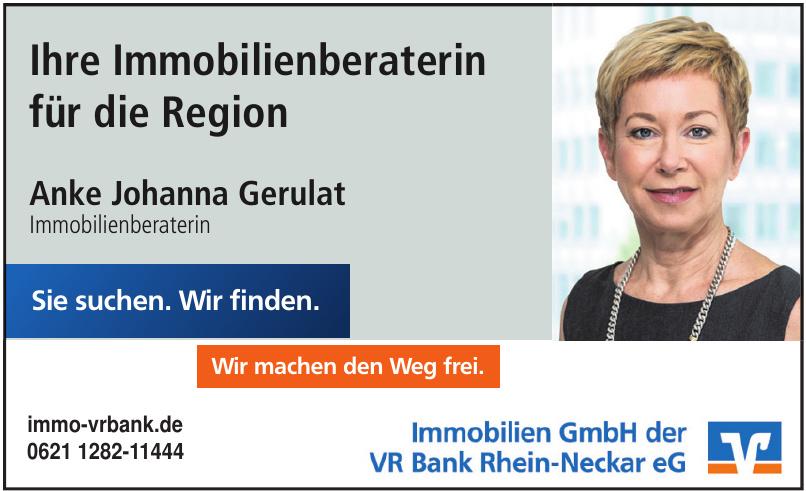 Immobilien GmbH der VR Bank Rhein-Neckar eG