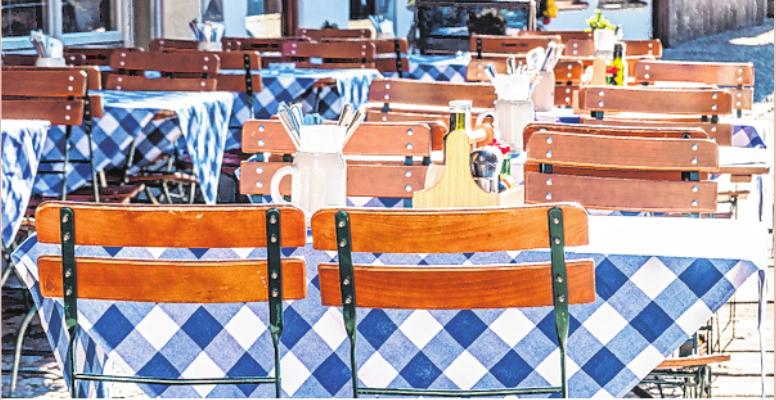 Biergärten dürfen in Bayern seit 18. Mai wieder öffnen.
