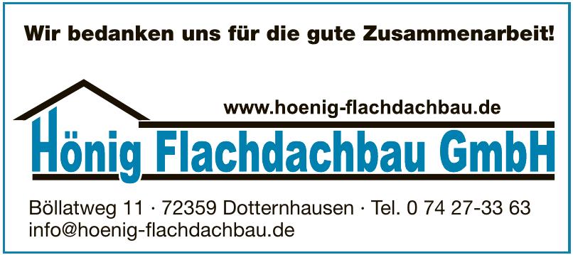 Hönig Flachdachbau GmbH