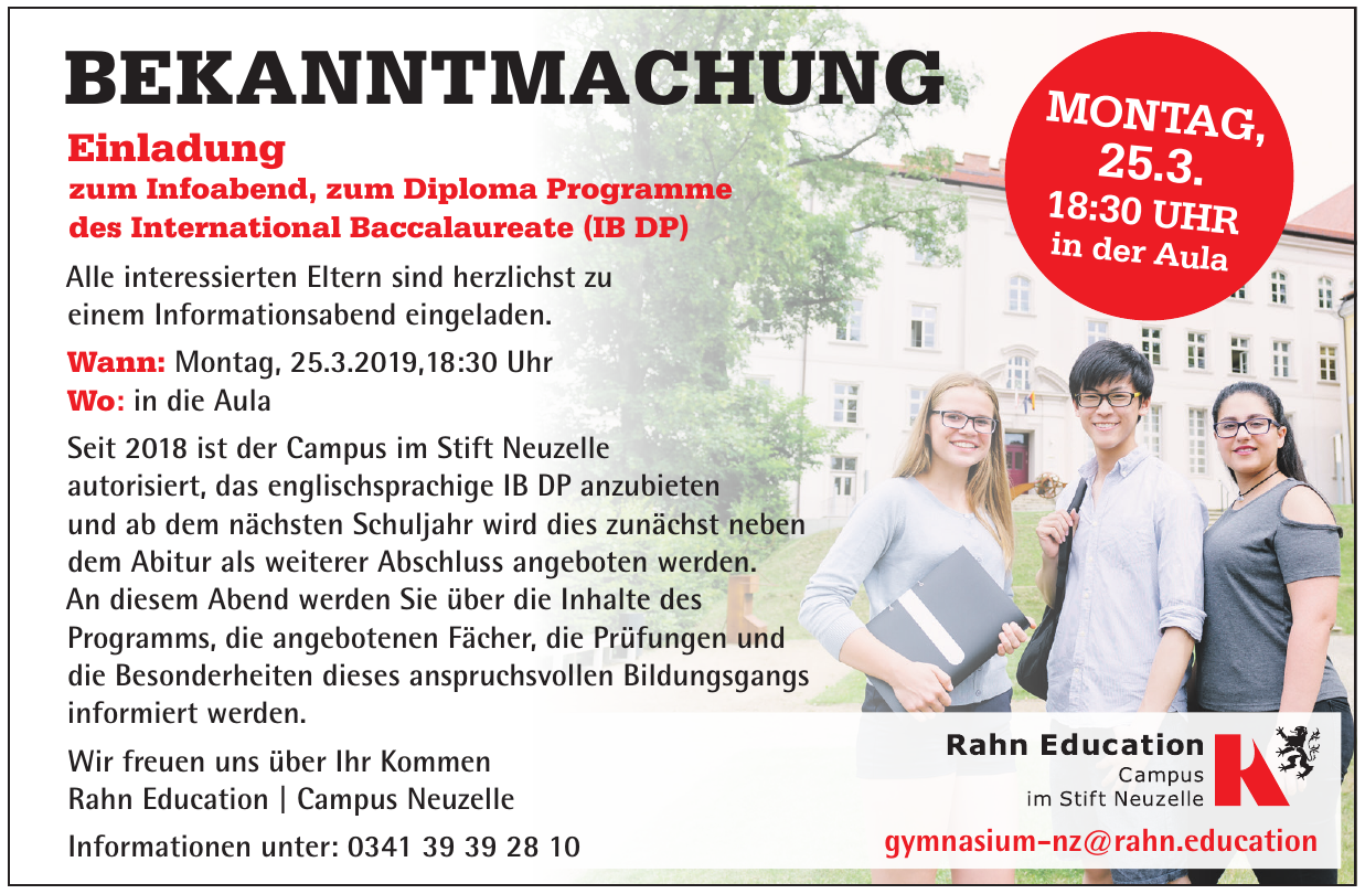 Rahn Education | Campus Neuzelle