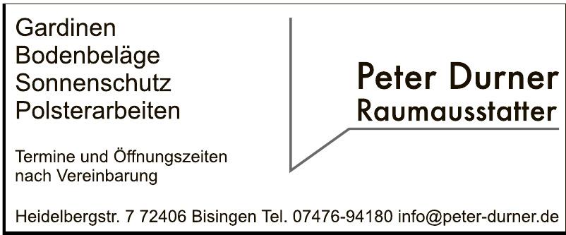 Peter Durner Raumausstatter