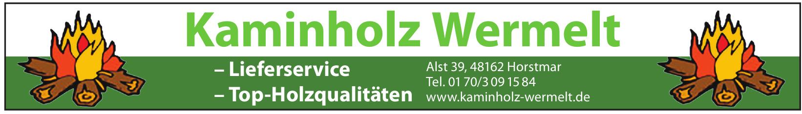 Kaminholz Wermelt