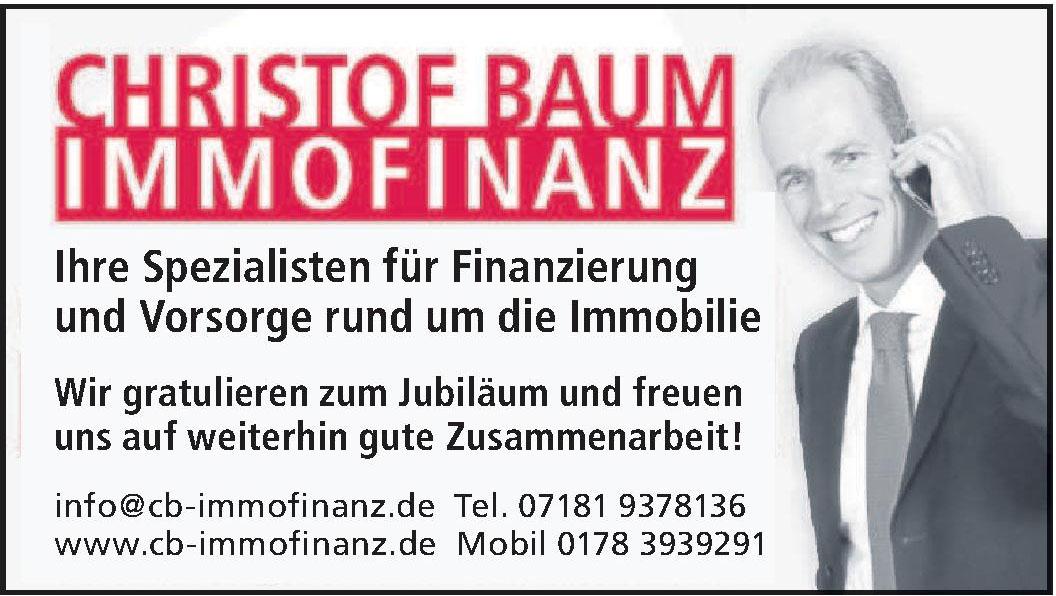 Christof Baum Immofinanz