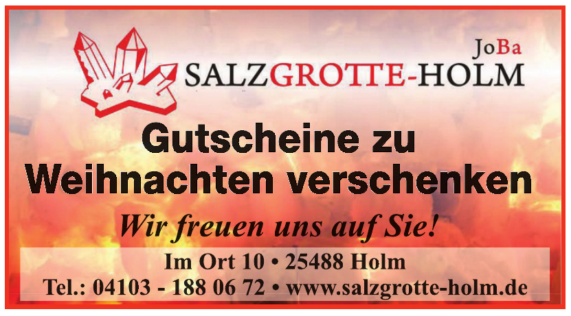 Salzgrotte Holm