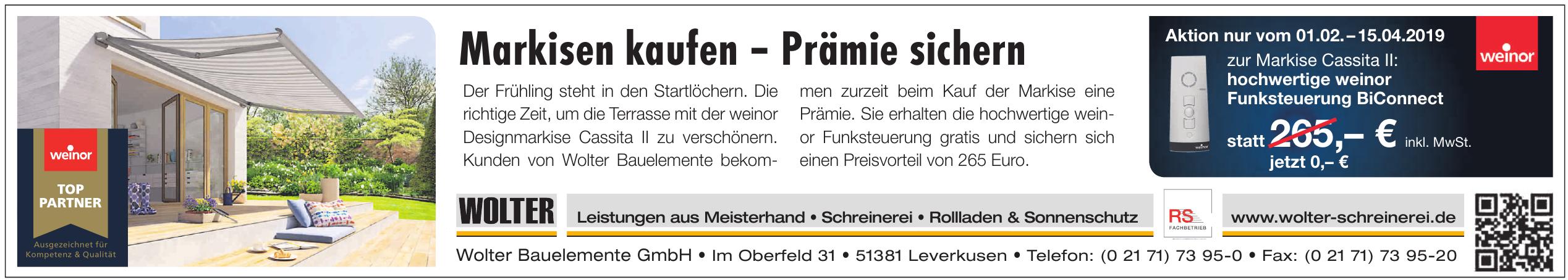 Wolter Bauelemente GmbH