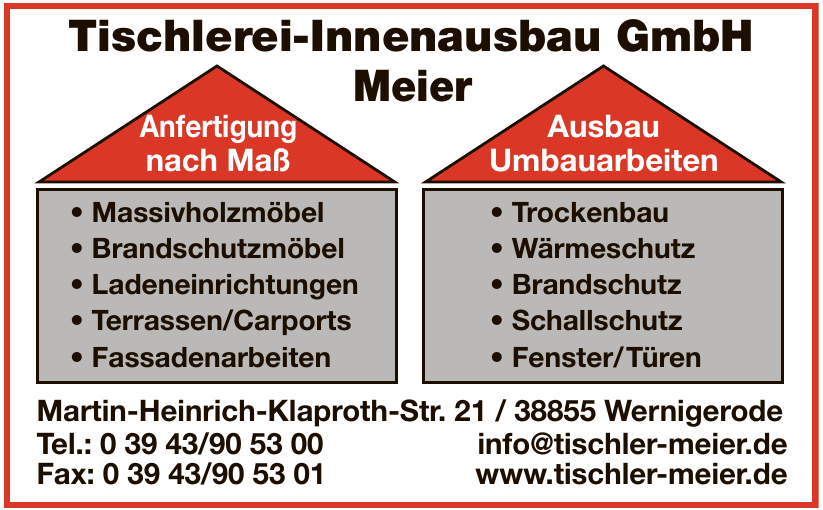 Tischlerei-Innenausbau Meier GmbH