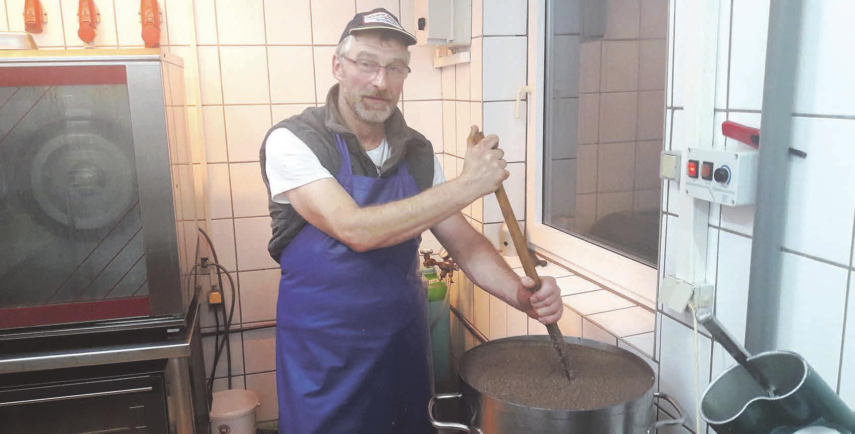 Bernd Reinsdorf ist Fleischer aus Leidenschaft. Foto:privat
