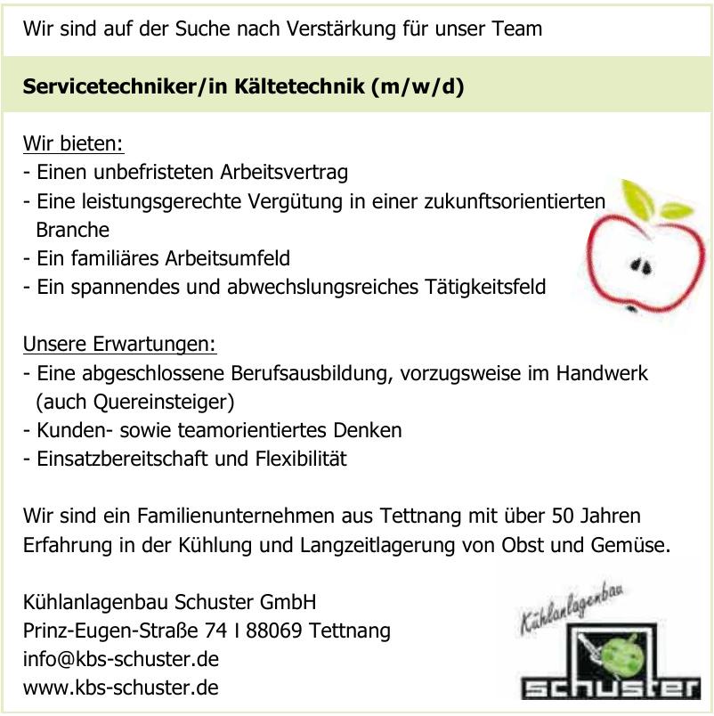 Kühlanlagenbau Schuster GmbH