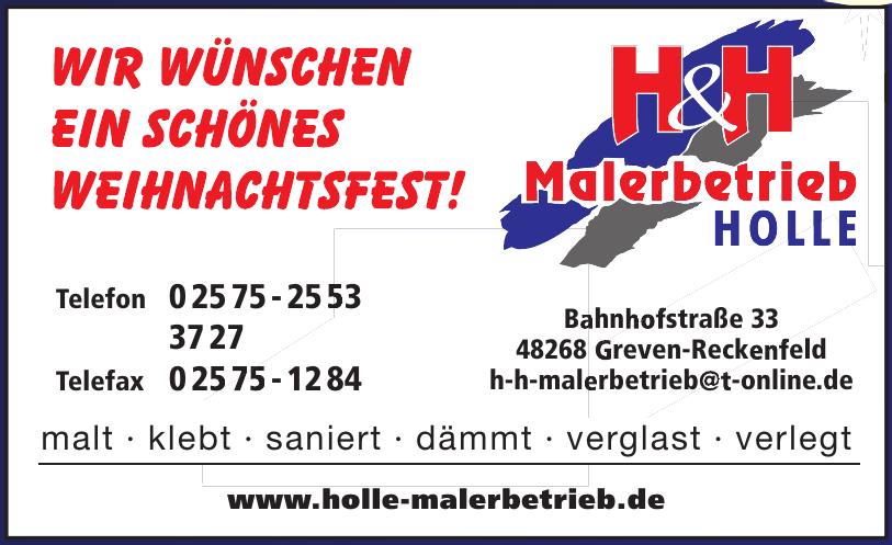 H & H Malerbetrieb Holle