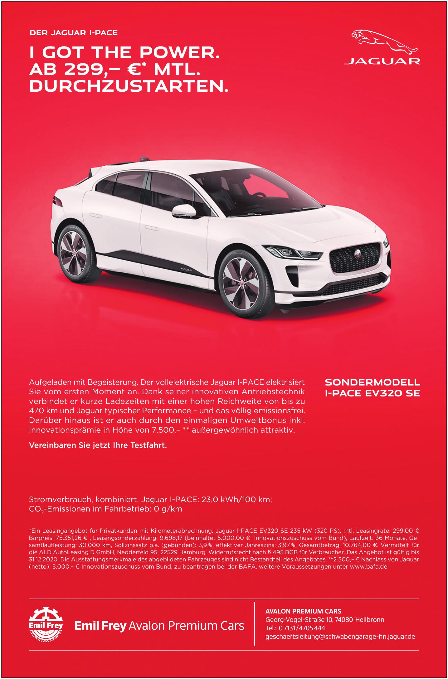 Emil Frey Avalon Premium Cars