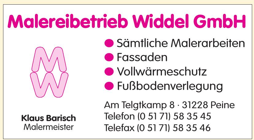 Malereibetrieb Widdel GmbH