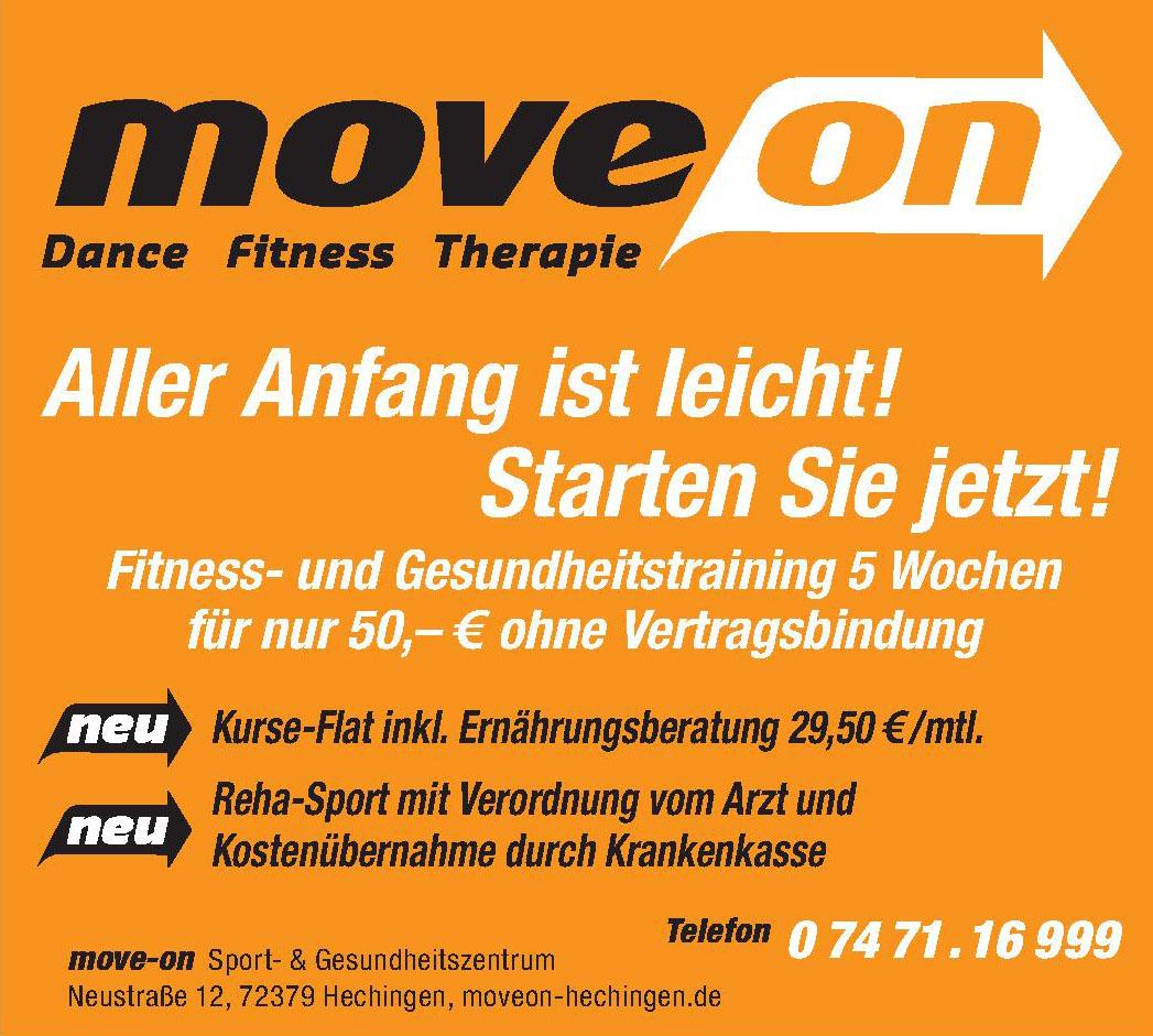 move-on Sport- & Gesundheitszentrum