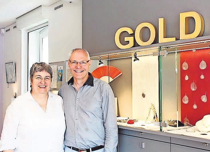 Das Ehepaar Wegner freut sich auf viele Gäste zum 20-jährigen Firmenjubiläum am Sonnabend.
