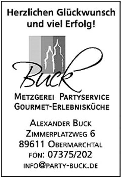 Buck Metzgerei - Partyservice - Gourmet-Erlebnisküche