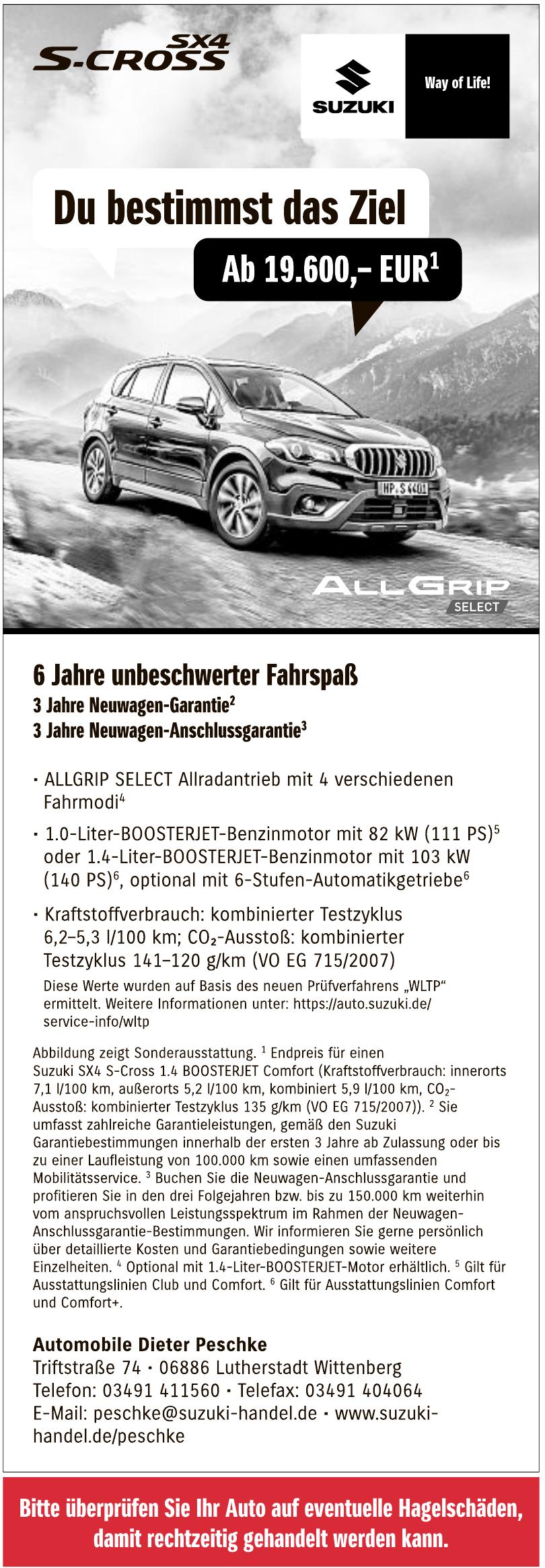 Suzuki-Automobile Dieter Peschke Vertragshändler