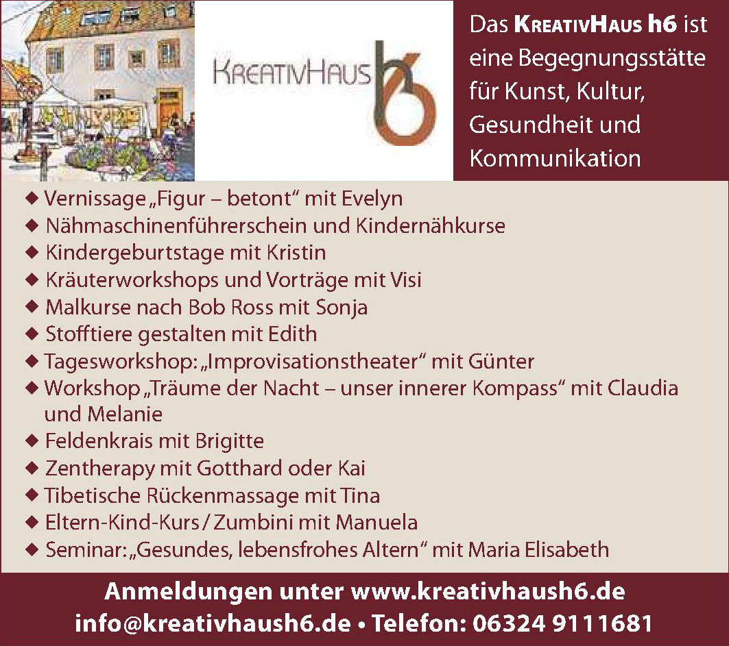 Kreativhaus h6