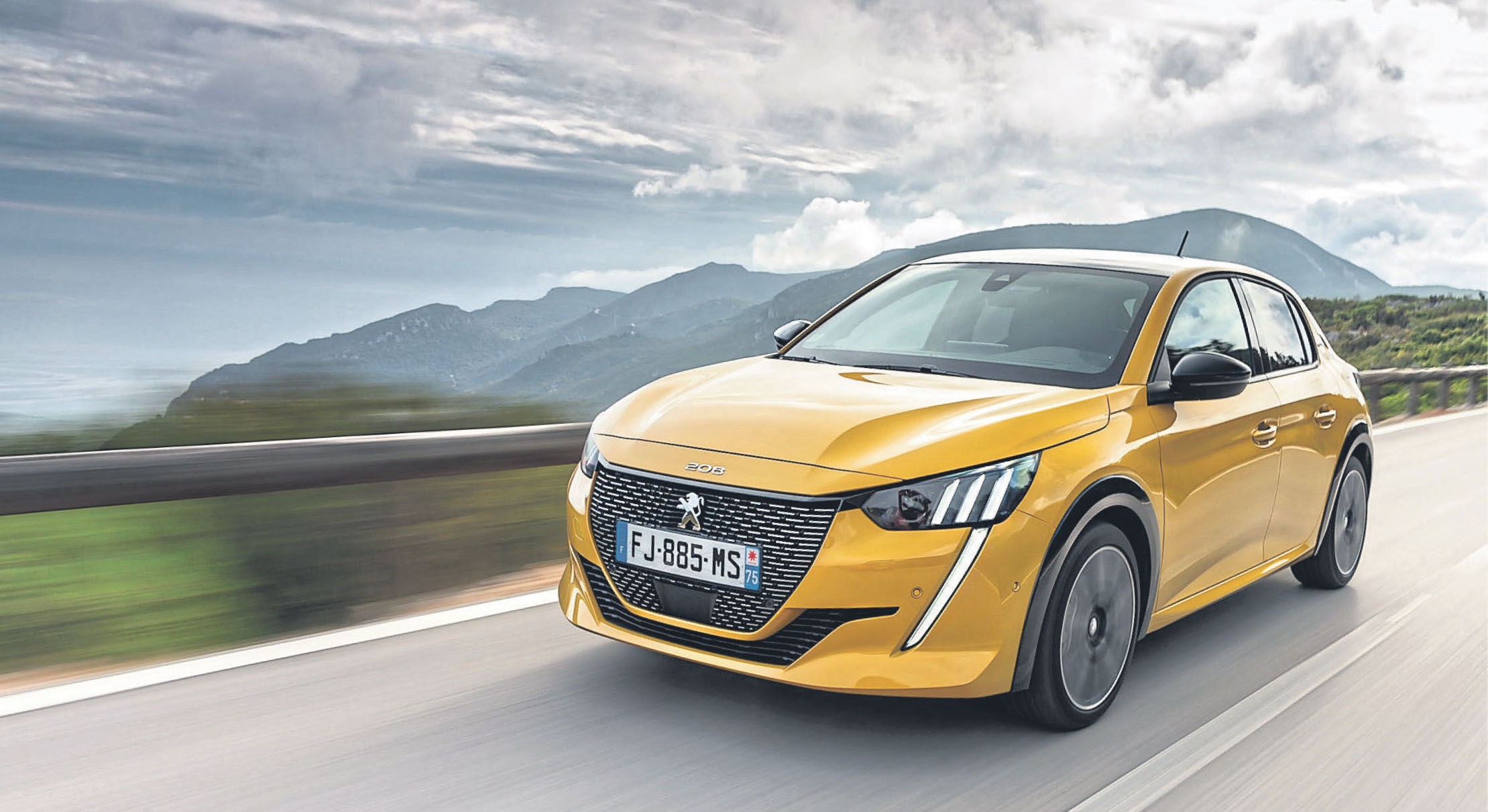 Fesch und flott: Die zweite Auflage des Peugeot 208 hat sich zum Hingucker entwickelt. Verbrauch (l/100 km) komb.: 4,3 – 3,2 l; CO2: 99 - 85 g/km
