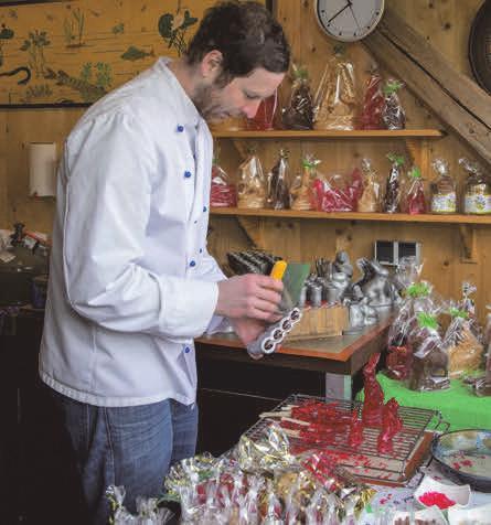 Rote Zuckerhasen von Bäcker Benny Gut