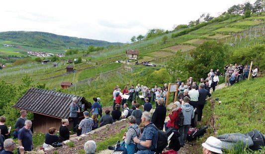"""Im vergangenen Jahr wurde der Premium-Wanderweg """"Unterjesinger Wengertwegle"""" eingeweiht."""