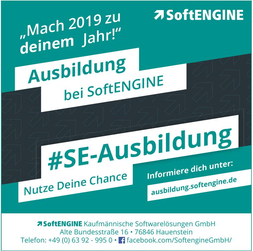 SoftENGINE Kaufmännische Softwarelösungen GmbH