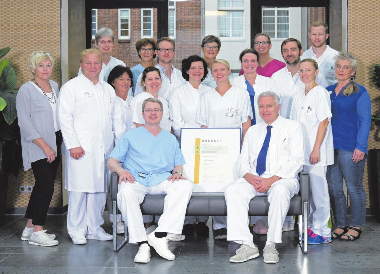 Zwei Teams zum Wohle der Patienten. Am Friedrich-Ebert-Krankenhaus in Neumünster arbeiten Gefäßchirurgen und Radiologen eng zusammen. Foto: Geschäftsfotos