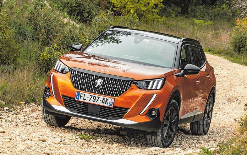 10 Peugeot 2008