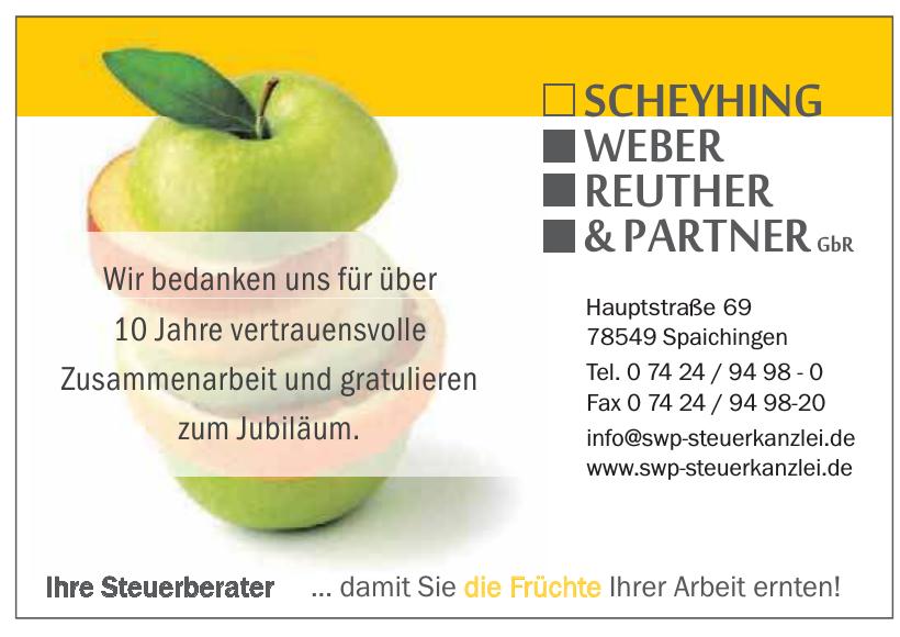 Steuerberatungskanzlei Scheyhing Weber Reuther & Partner GbR