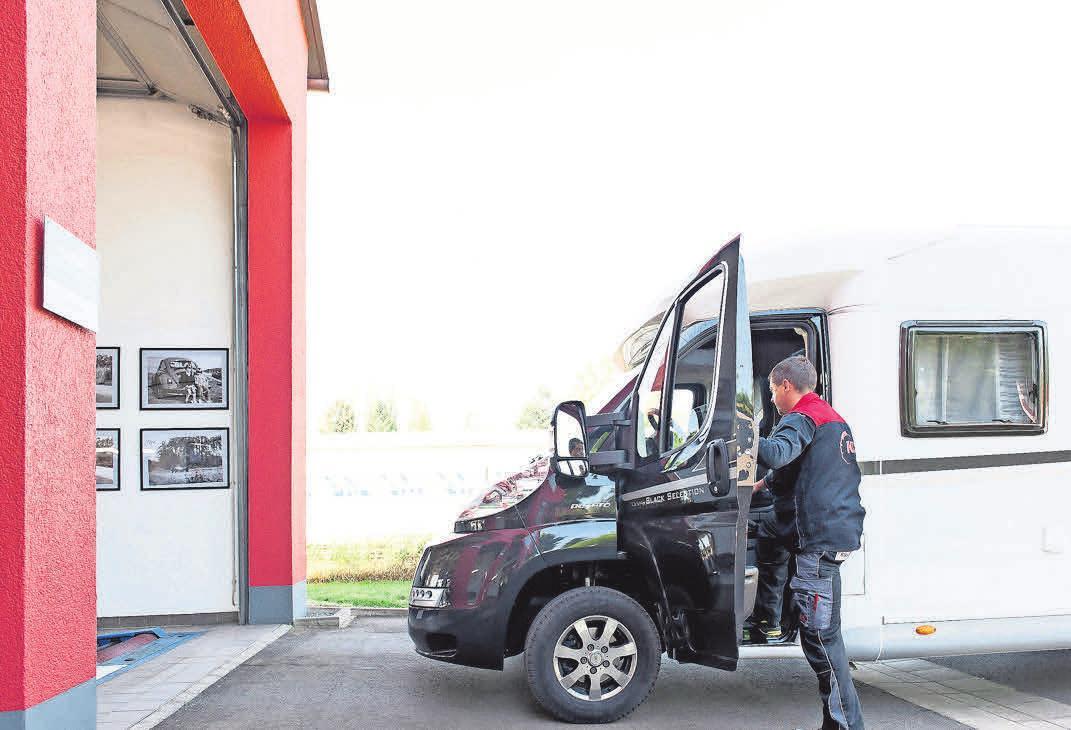 Die Saison für Wohnmobile hat begonnen. FOTO: KÜS/PETER KERKRATH