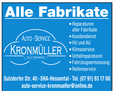 Auto-Service Kronmüller