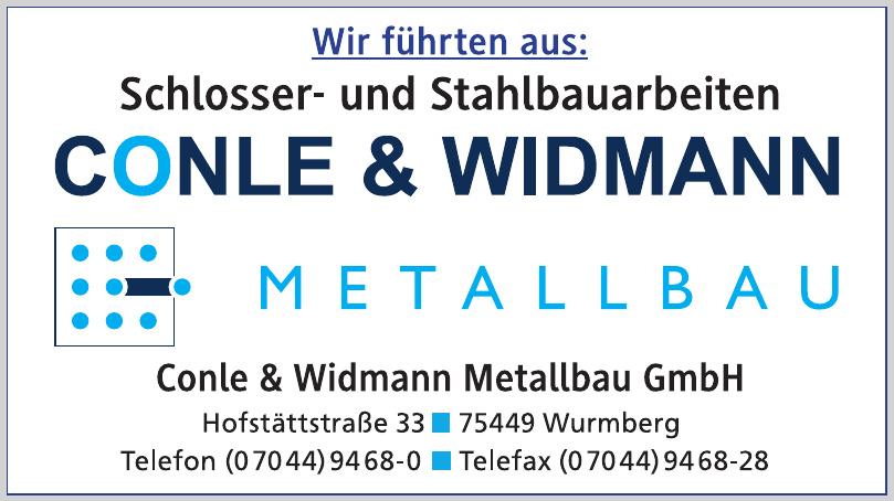 Conle & Widmann Metallbau GmbH