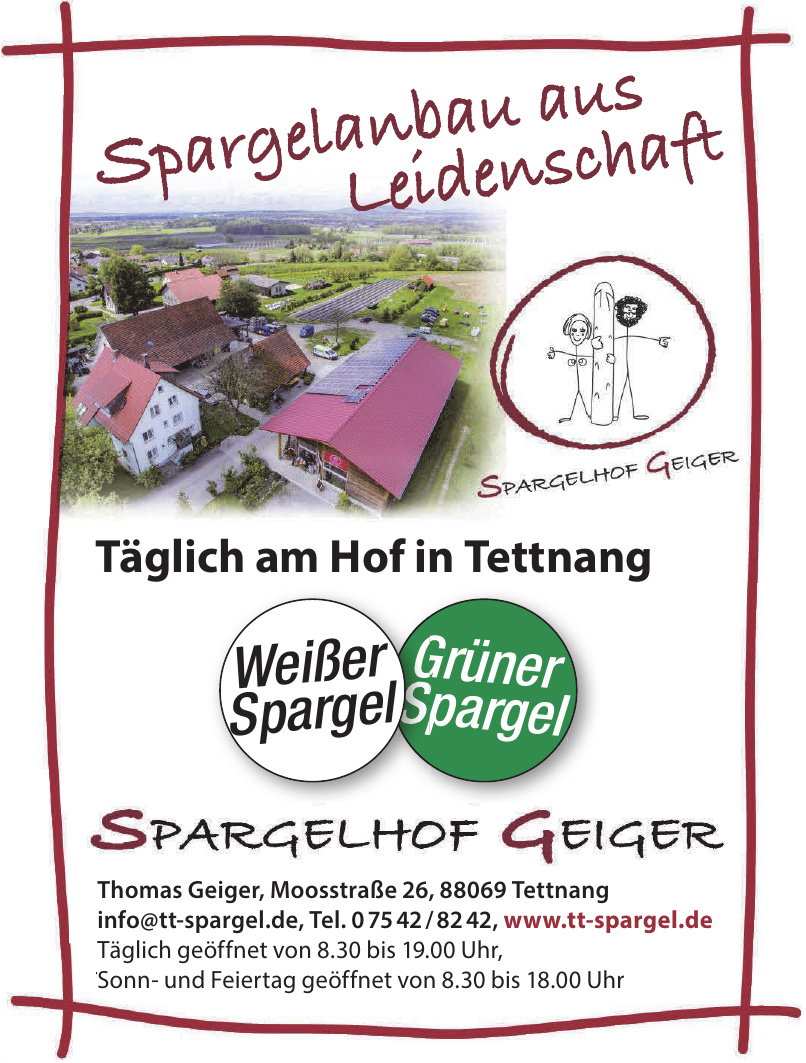 Spargelhof Geiger