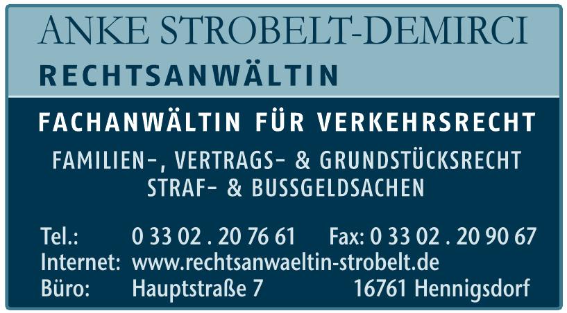 Anke Strobelt-Demirci Rechtsanwaltin
