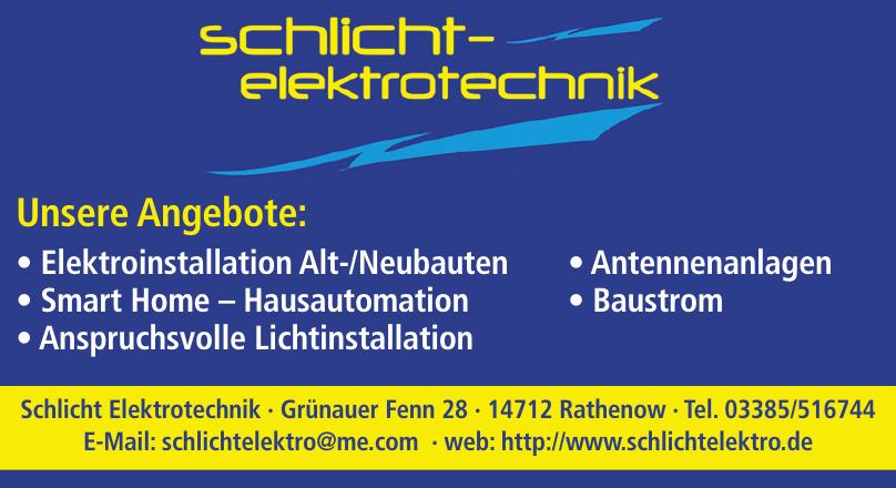 Schlicht Elektrotechnik