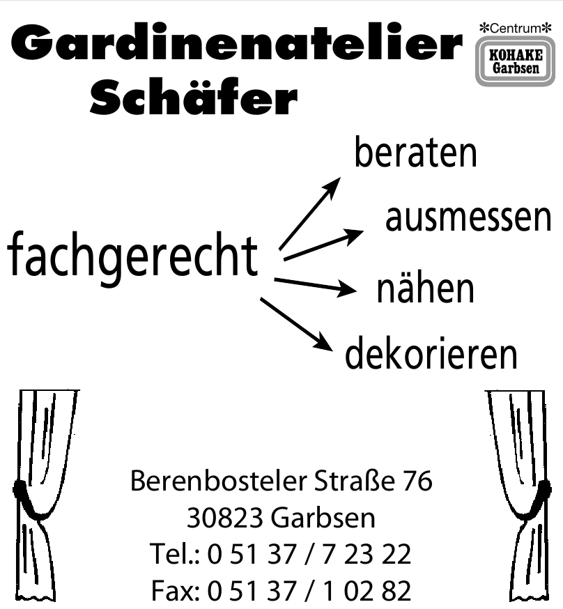 Gardinenatelier Schäfer Schäfer