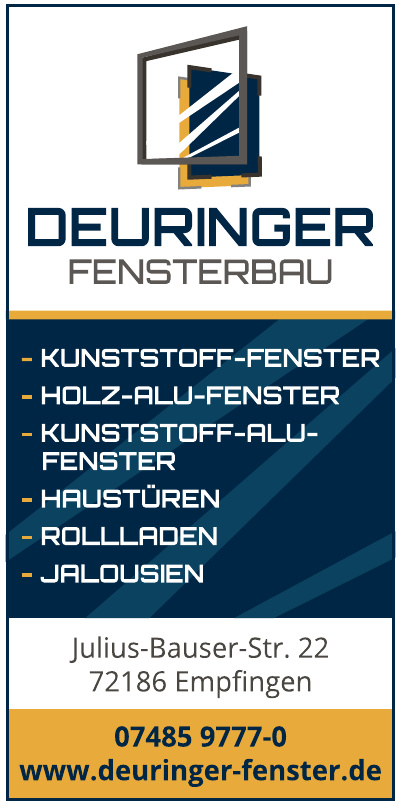 Fensterbau Deuringer GmbH