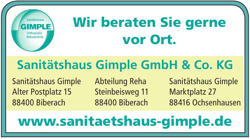 Sanitätshaus Gimple GmbH & Co. KG