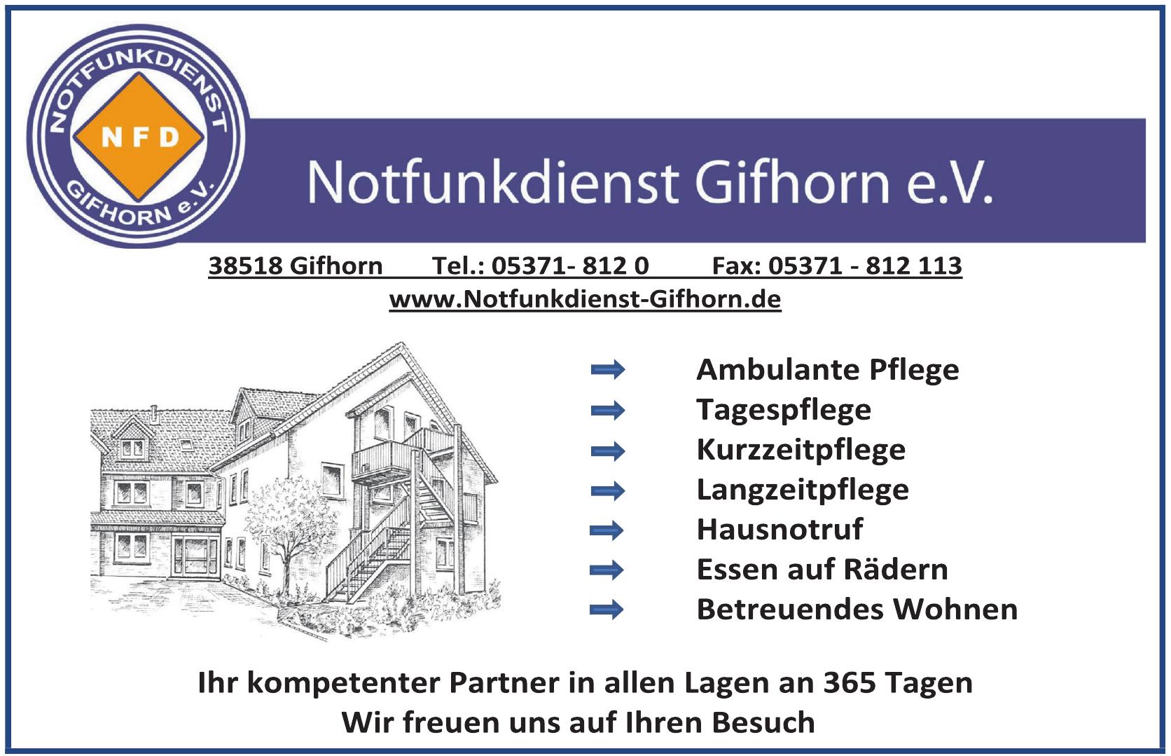 Notfunkdienst Gifhorn e. V.
