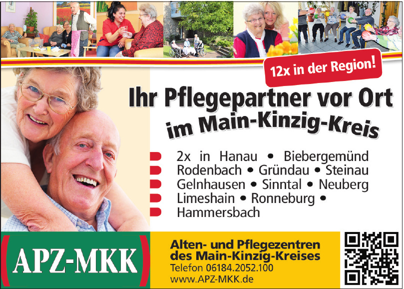 Alten- und Pflegezentren des Main-Kinzig-Kreises