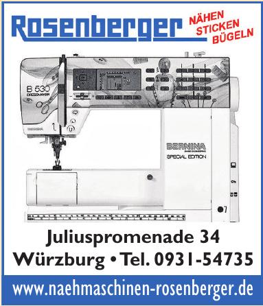 Fosenberger - Nähen - Sticken - Bügeln
