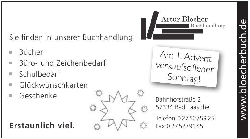 Buchhandlung Artur Blöcher Inh. Kerstin Blöcher