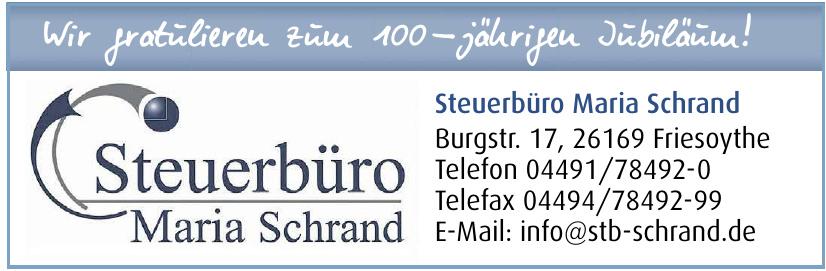 Steuerbüro Maria Schrand